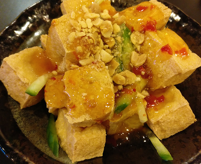 Sweet and Sour Crispy Tofu (Bean Curd)