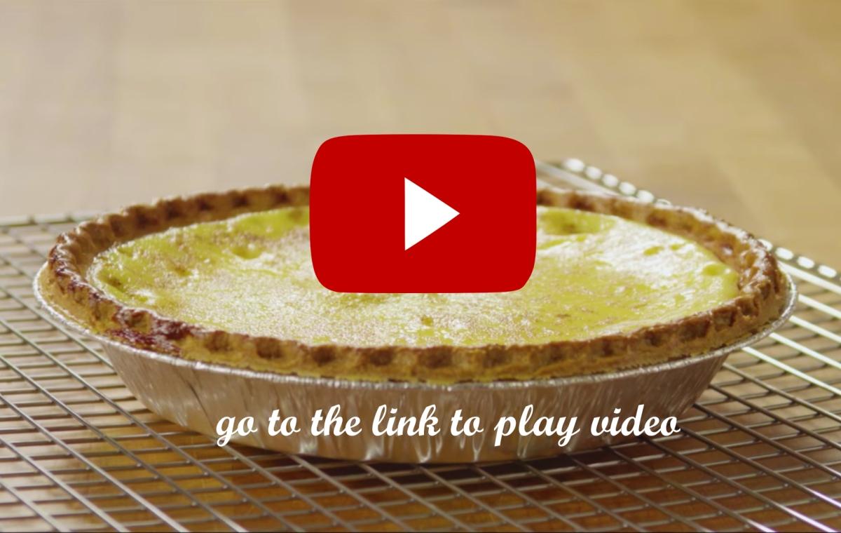 Custard Egg Pie