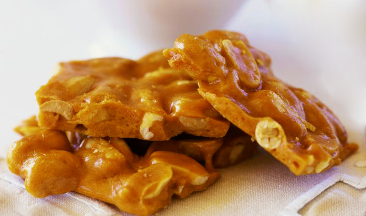 Cashew and Peanut Brittle Recipe