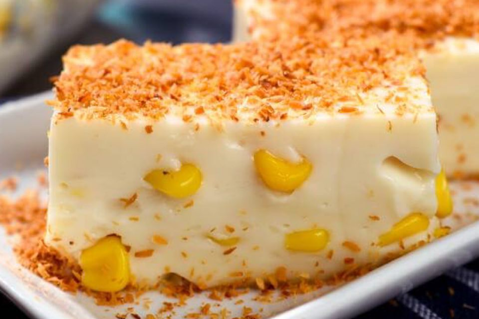 Maja Blanca Filipino Coconut Pudding Recipe